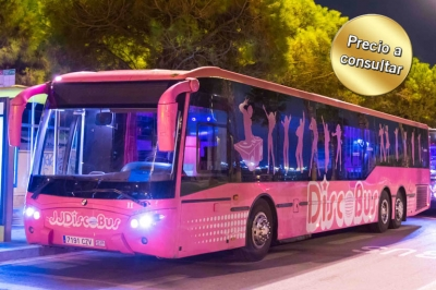 DiscoBus Rosa | Limusina Barcelonesa | Alquiler de limusina en Barcelona
